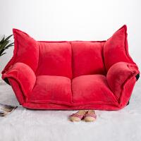 20190402214055513网红懒人沙发小户型双人日式榻榻米沙发卧室阳台休闲可折叠沙发床