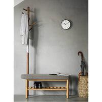 黑胡桃木家具实木家具中式东方衣帽架玄关凳换鞋凳