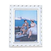 欧式实木相框摆台7寸8101216a4儿童照片挂墙营业*框家居日用家装软饰 519白色 横竖通用