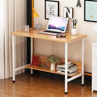 亿家达 书桌简约 电脑台式桌子学生写字桌简易办公桌笔记本电脑桌