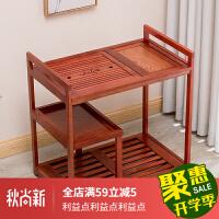 烧水茶台实木可移动茶车功夫茶具茶盘套装家用全自动简约小茶桌