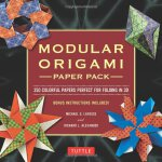 Modular Origami Paper Pack: 350 Colorful Papers Perfect for