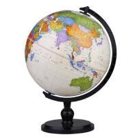 博目地球仪:25cm中英文政区仿古AR功能地球仪(炫影黑架) 9787503041198 北京博目地图制品有限公司 测