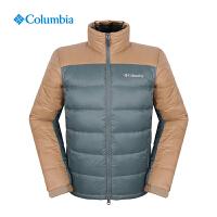 Columbia哥伦比亚秋冬户外男热反射700蓬鹅绒羽绒服XE5388