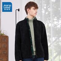 [618提前购专享价:89.9元]真维斯男装 冬装 拉粒绒款夹克外套
