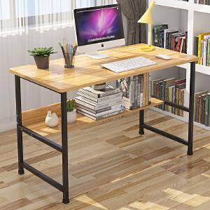 亿家达电脑桌台式桌 简易桌子卧室简约书桌家用写字桌学生笔记本办公桌