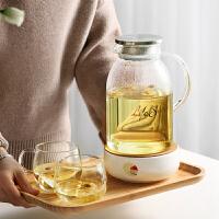 光一冷水壶透明玻璃套装家用超大容量欧式晾凉白开水杯北欧创意北欧风