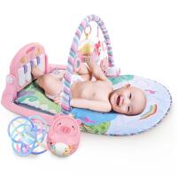 婴儿健身架器脚踏钢琴益智游戏毯新生宝宝0-1岁0-3-6-12个月玩具