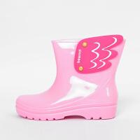 时尚儿童雨靴 环保韩国男童女童学生小孩水鞋防滑雨鞋