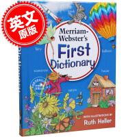现货 韦氏初级儿童图片字典 英文原版 Merriam-Webster's First Dictionary 适合5-7