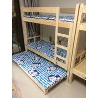 20190403020502031小学生实木午休床三层床上下床午托床托管床3层床定制6人床双层床 其他