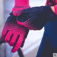 山地公路自行车骑行手套全指运动健身手套男女长指