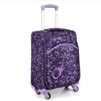 拉杆箱 旅行箱 行李箱 多功能箱包 18寸万向轮登机箱20寸行李箱拉杆箱 婚庆红色箱子