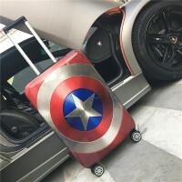 美国队长学生旅行拉杆 箱万向轮男登机 女行李箱20/钢铁侠