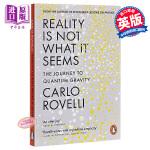 【中商原版】现实并非如此:量子力学之旅 英文原版 英文版 物理学 Reality Is Not What It See