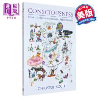 【中商原版】意识与脑 一个还原论者的浪漫自白 英文原版 Consciousness Christof Koch 社会科学