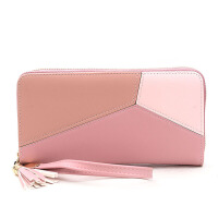 零钱包女士长款新款拉链多功能韩版手拿包小清容量皮夹