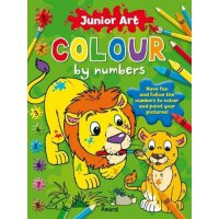 Lion: Colour By Numbers