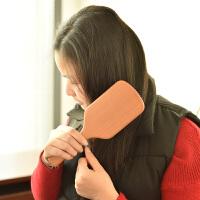 纯榉木韩国贵妇气囊气垫梳按摩头皮梳梳子家用脱发长卷发女大板梳