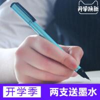 正品英雄HERO钢笔 0.38mm铱金笔 学生用练字笔男女小学生灌墨刚笔书写特细儿童定制logo刻字