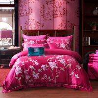 床上用品婚庆四六七八十件套全棉纯棉绣花中式古典套件