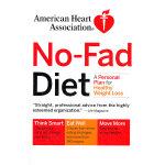AHA NO-FAD DIET(ISBN=9780307347428) 英文原版