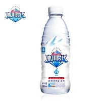 冰川时代 天然矿泉水 弱碱性瓶装饮料饮用水整箱批发388ml*20瓶