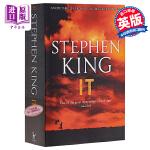 【中商原版】它 小丑回魂 It 英文原版 英文版 Stephen King 推理与惊悚小说 畅销书籍 史蒂芬.金