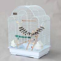 玄凤虎皮鹦鹉笼子豪华大型鸟笼 八哥笼大号金属牡丹鹩哥繁殖笼