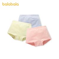 【2件7折:55.3】巴拉巴拉女童�妊�棉三角�和�短�小童����三�l�b