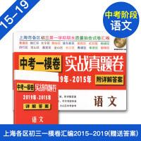 2019-2015中考实战真题卷 语文 中考一模卷 5年合订本 附答案详解 上海市区县初三第一学期期末质量抽查试卷 一