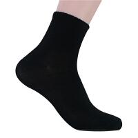 袜子 男式学生透气吸汗厚款短袜2020秋冬季舒适柔软男士休闲运动中筒袜