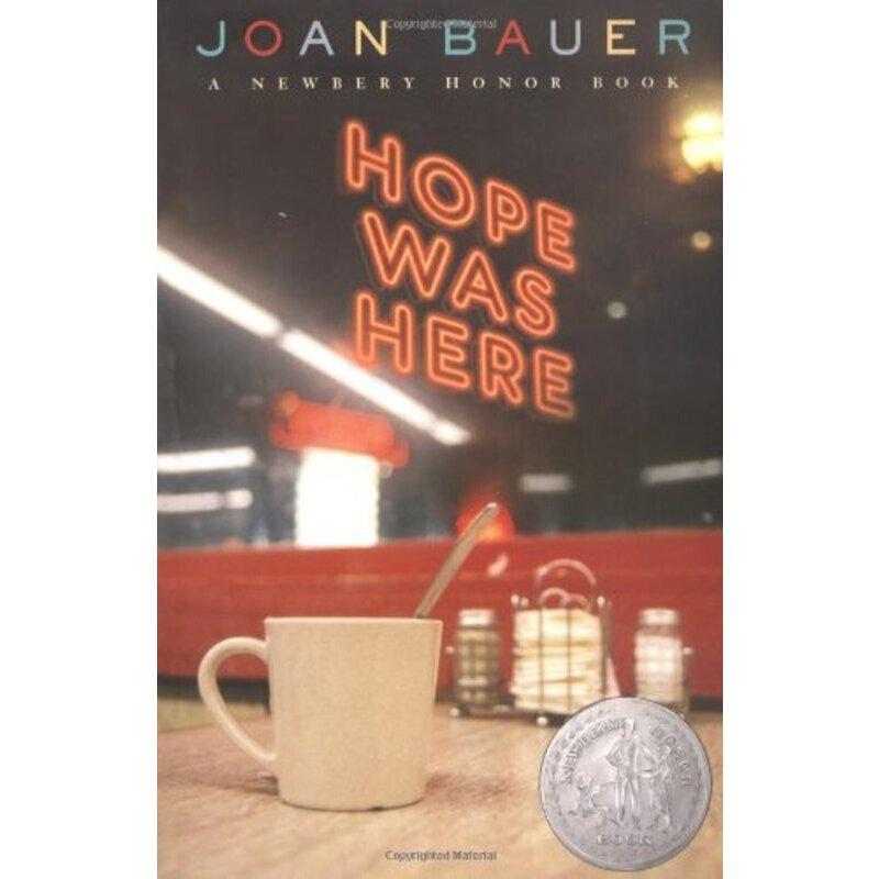 英文原版 Hope Was Here 希望的所在 2001年纽伯瑞银奖小说 ISBN 9780142404249