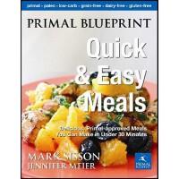 【预订】Primal Blueprint Quick and Easy Meals: Delicious, Prima