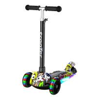 儿童滑板车三轮2-3-6-12小孩男孩宝宝初学者闪光踏板滑滑车溜溜车