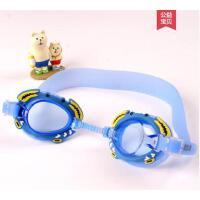 户外新品防雾儿童泳镜卡通螃蟹泳镜宝宝游泳镜防水儿童泳镜不勒