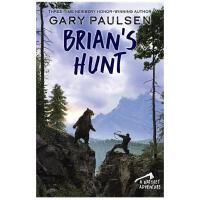 【现货】英文原版 手斧男孩5:猎杀布莱恩 Brian's Hunt 青少读物 10岁以上适读 平装