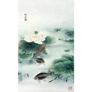 魏钦《花鸟30》著名画家