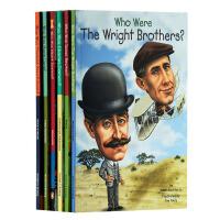 【中商原版】Who Was 系列发明家6册套装 英文原版 儿童读物儿童文学 初级章节书青少年读物