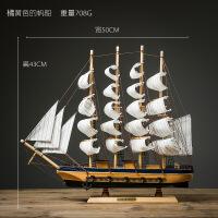 帆船摆件模型创意家居客厅电视柜酒柜装饰工艺品