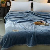 君别商场被子冬天单人珊瑚绒毯子冬季加厚毛巾被法兰绒毛毯学生宿舍沙发毯盖毯