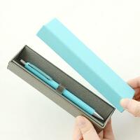 【单件包邮】晨光文具珍品皮革自动铅笔 金属活动铅笔0.5mm H1502 礼盒装