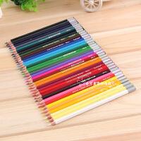 真彩水溶性彩色铅笔涂鸦笔套装儿童画笔图画笔木质彩笔彩铅