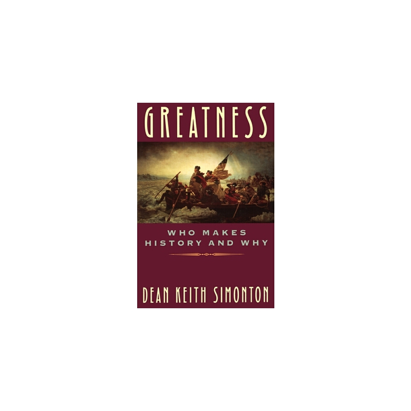 【预订】Greatness: Who Makes History and Why 预订商品,需要1-3个月发货,非质量问题不接受退换货。