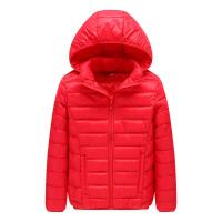 大童装棉衣男童12-15岁装中大童女童短款轻薄羽绒棉袄外套