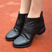 秋冬季舞蹈靴舞蹈鞋软底跳舞鞋女士现代舞广场舞靴