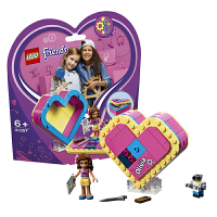 【当当自营】乐高LEGO 好朋友系列 41357 奥莉薇亚的爱心藏宝盒