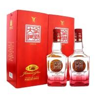 全兴大曲  晶彩红52° 双瓶装 500ml*2瓶 浓香型白酒(内含礼品袋)