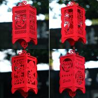 萌味 灯笼 2020猪年新款红灯笼挂饰宫灯挂件过年春节新年元旦福字灯笼挂件婚庆用品