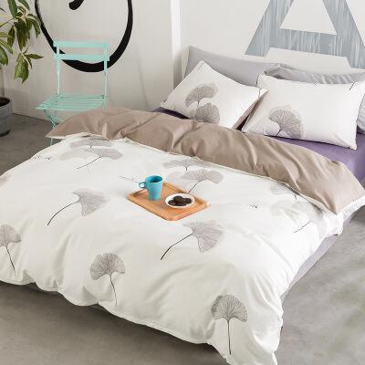 北欧风棉四件套被子床品纯棉床单被套网红三件套床上用品